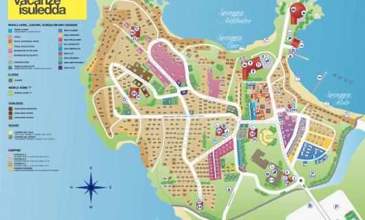 plattegrond Isuledda