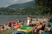 Camping Spiaggia Calceranica Al Lago