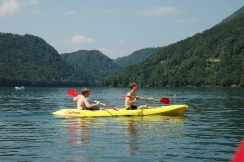 Camping Lago di Levico Trentino