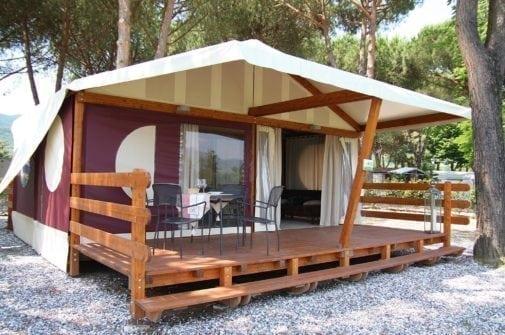 Camping Liguria River