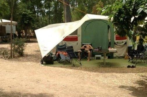 Camping Torre Salinas Sardinie