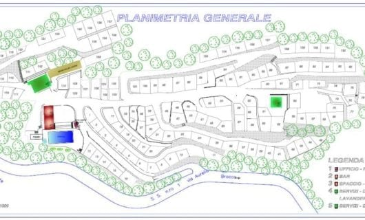 Plattegrond Camping Mare Monti