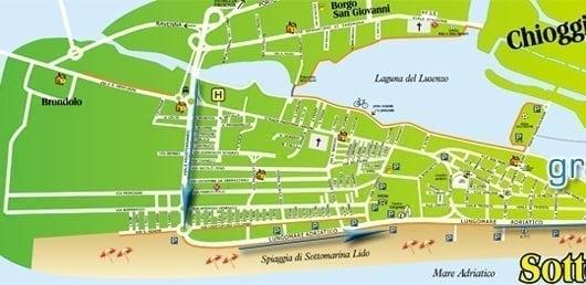 plattegrond Grande Italia