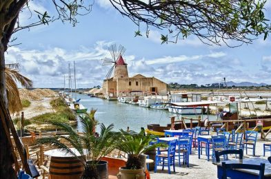 Camping Sicilië