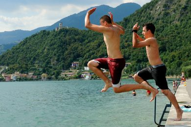 Campings in Lombardije